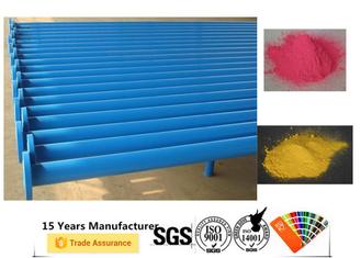 China Rebar Thermoset Powder Coating , Corrosion Resistant Metal Powder Coated supplier