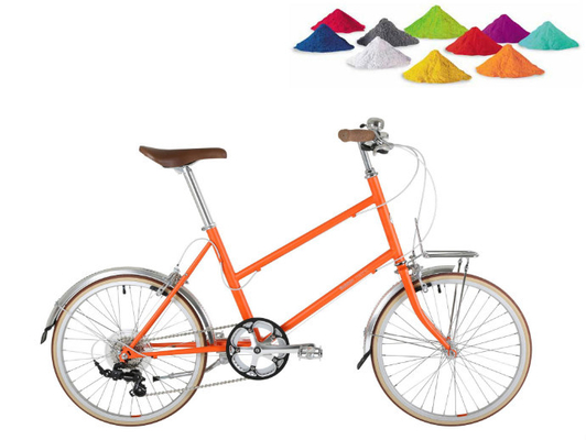 Promotional Bike Frame Powder Coating Epoxy Polyester Resin Material