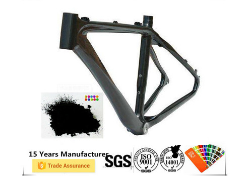 Electrostatic Spray Frame Powder Coating , Metallic Effect Unique Powder Coating