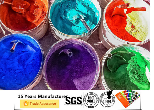 Anti Corrosive Home Powder Coating Smooth Surface Epoxy Polyester Material