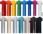 Thermoset Radiator Powder Coating Ral Color 90% Spray Ratio Anti Corrosion